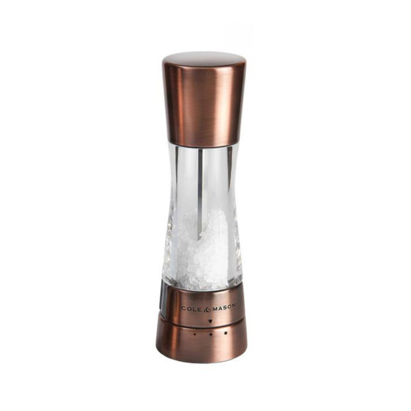 """Cole & Mason Derwent Salt Mill Copper 7.5"""""""