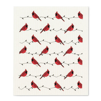 Abbott Cardinals Swedish Dishcloth