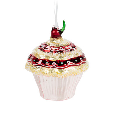 Abbott Small Cupcake Ornament