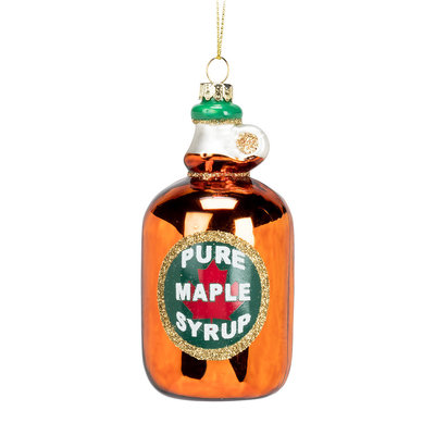 Abbott Syrup Bottle Ornament