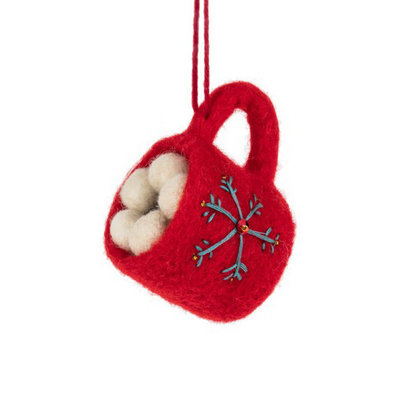 Abbott Small Hot Chocolate Ornament