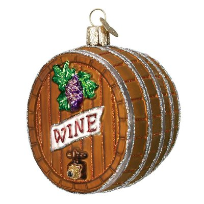 Abbott Brown Wine Cask Ornament