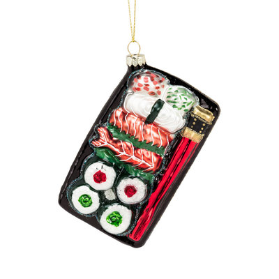 Abbott Sushi Plate Ornament