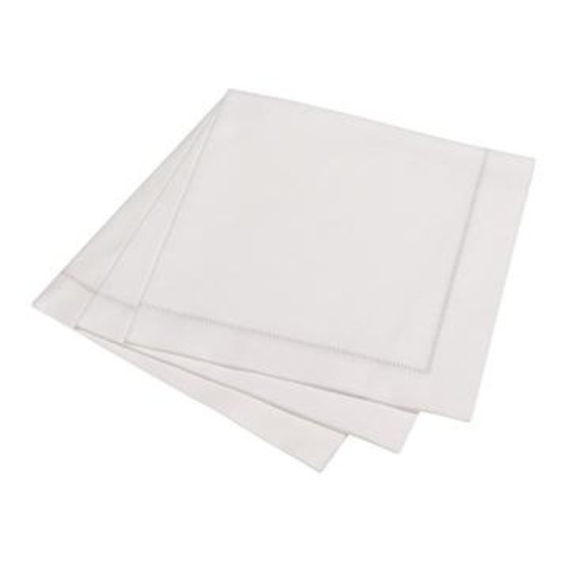 The Napkins Hemstitch Napkin 50pk