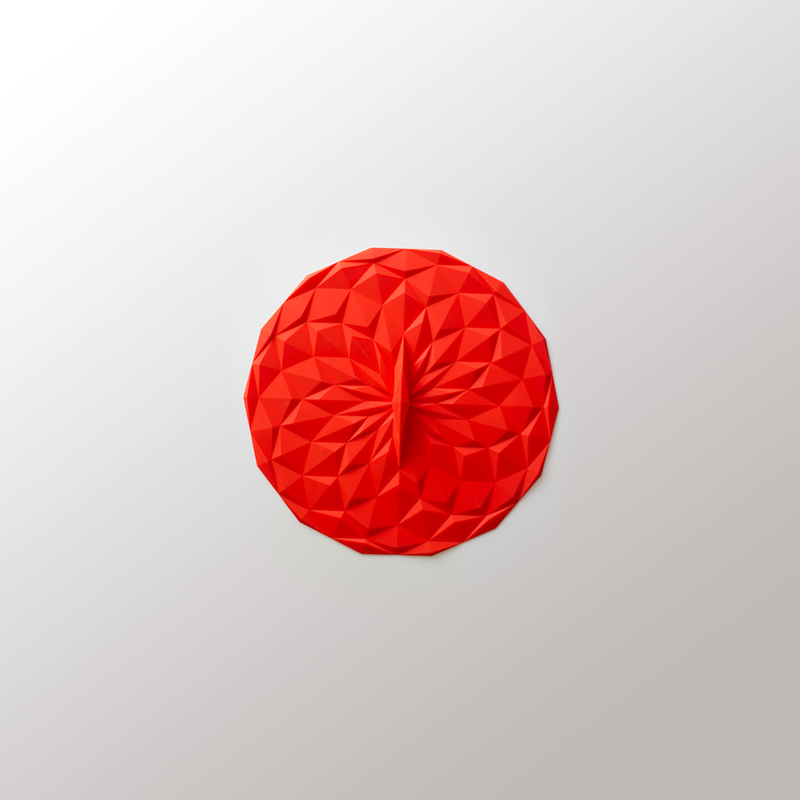 """GIR Get It Right Silicone Lid 6"""" 152mm Red"""
