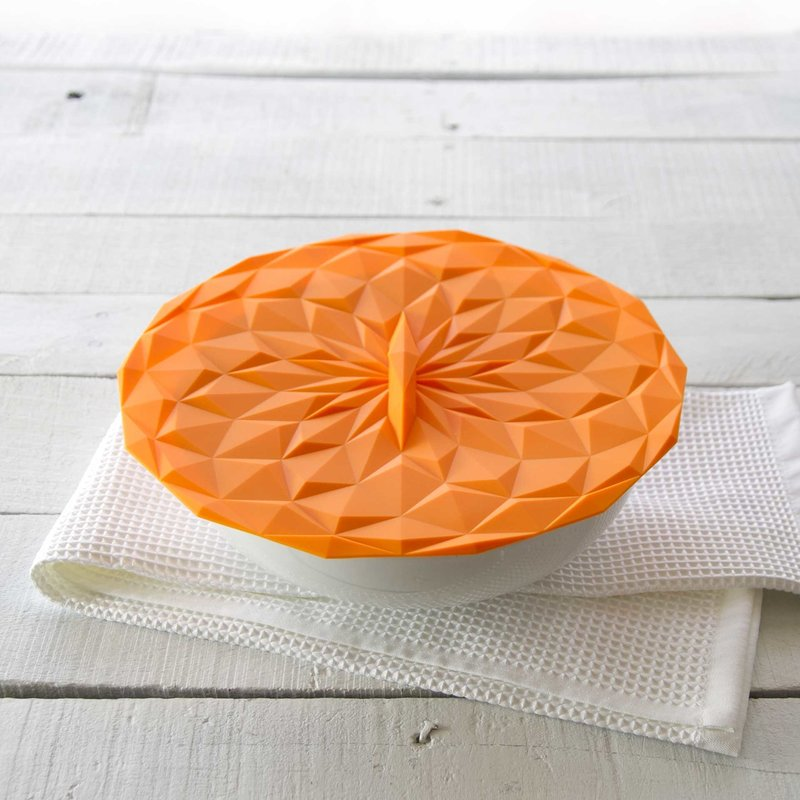 """GIR Get It Right Silicone Lid 10"""" 254mm Orange"""
