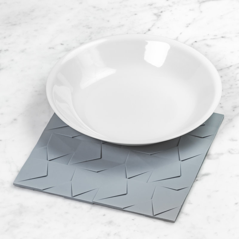 GIR Get It Right Silicone Kitchen Mat/Trivet Slate