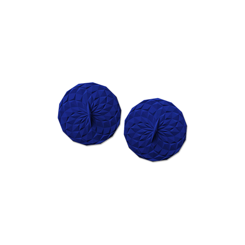 """GIR Get It Right Silicone Drink Lid 4"""" 102mm 2pk Navy"""