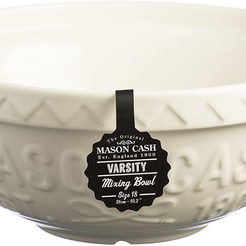 Mason Cash MC Varsity Mixing Bowl 26cm Cream