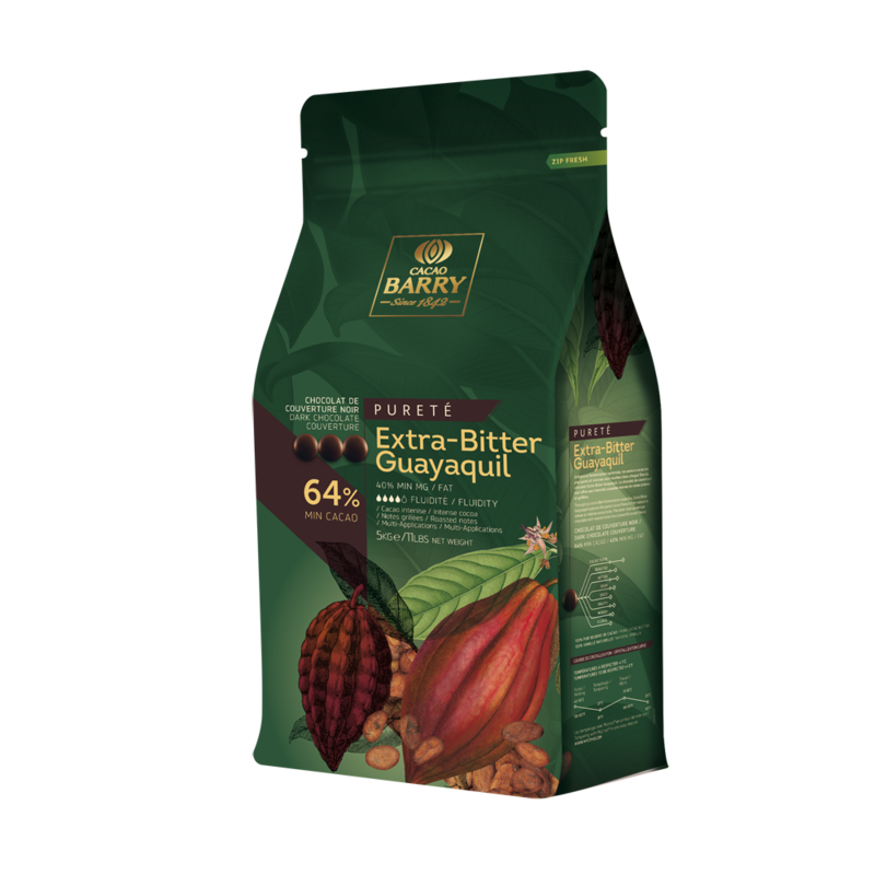 Cacao Barry CacaoBarry Guayaquil Extra Bitter 64% 5kg