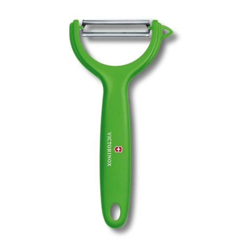 Victorinox peeler y-shape micro serrated green