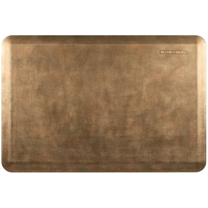 Wellness Mats WM Estates Linen 3x2' Burnished Copper Wellness Mat