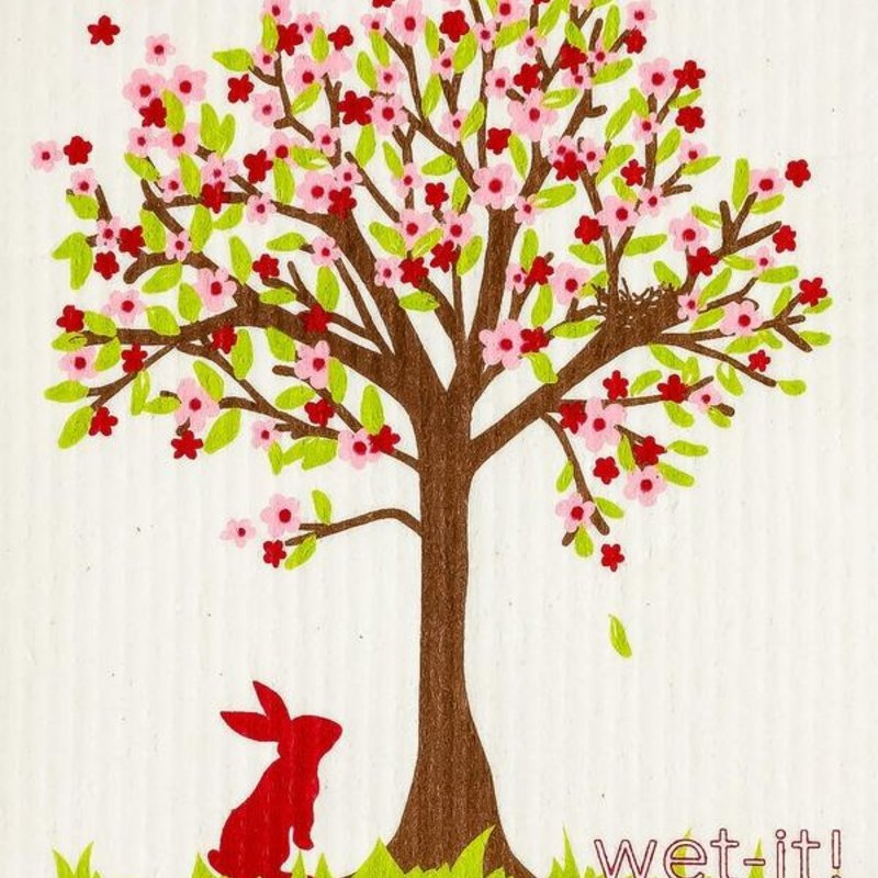WetIt! Swedish Treasures Swedish Wet Cloth Spring Tree