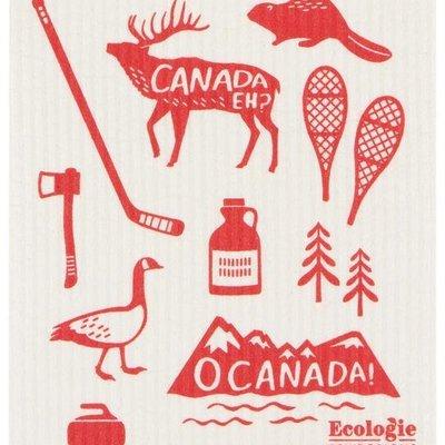 Danica/Now Designs Dishcloth Swedish - O Canada