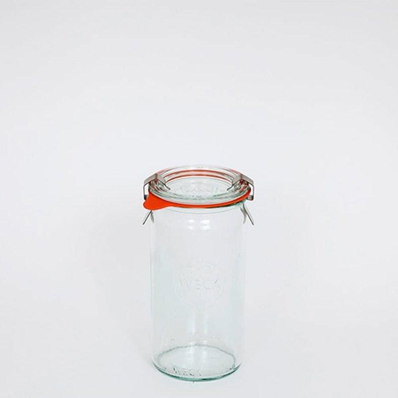 Weck Weck Cylindrical Jar 1/4L  975