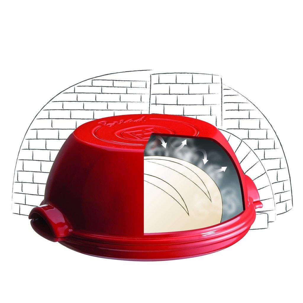 Emile Henry Emile Henry Round Bread Baker - Lin