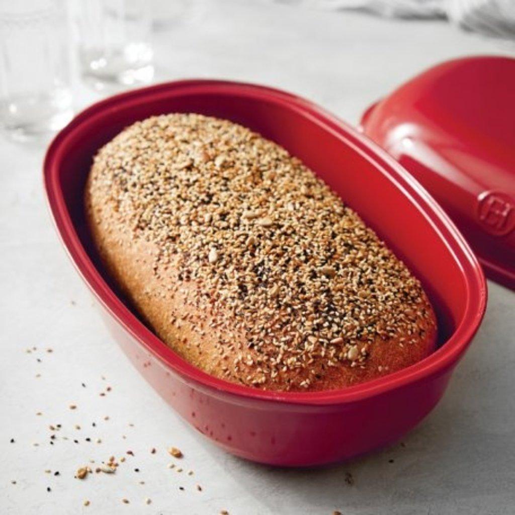 Emile Henry EH Large Artisan Loaf Baker - Grand Cru