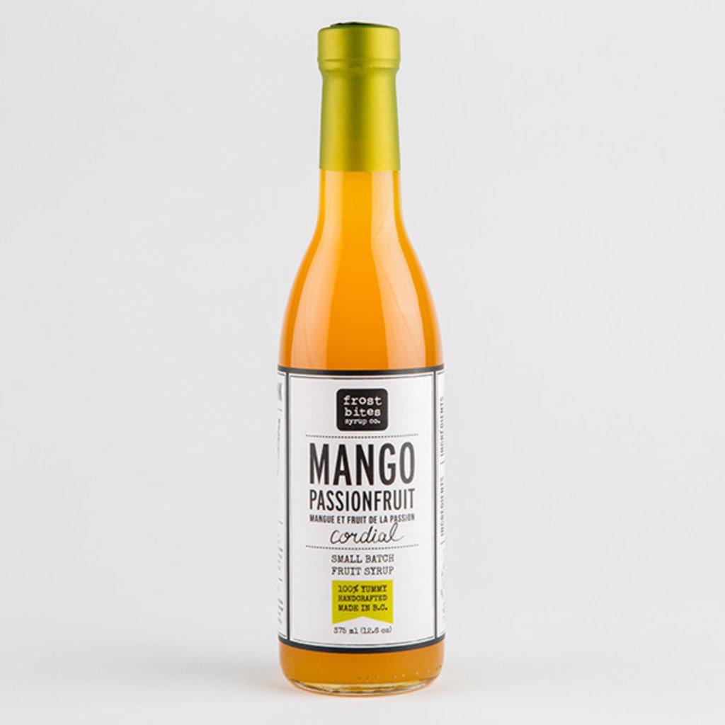 Frostbite Co. Cordial Mango Passionfruit 375mL