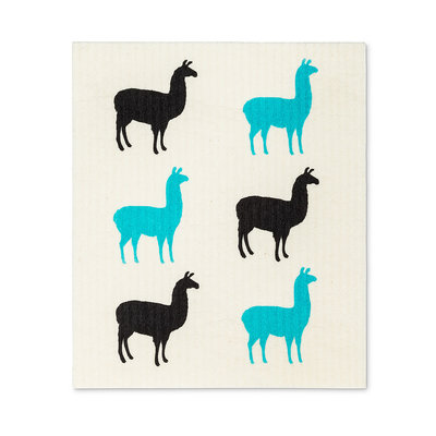 Abbott Llamas Mini Swedish DCloth