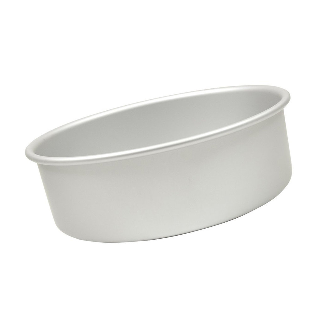 Fat Daddio's Round Cake Pan Solid 6x3