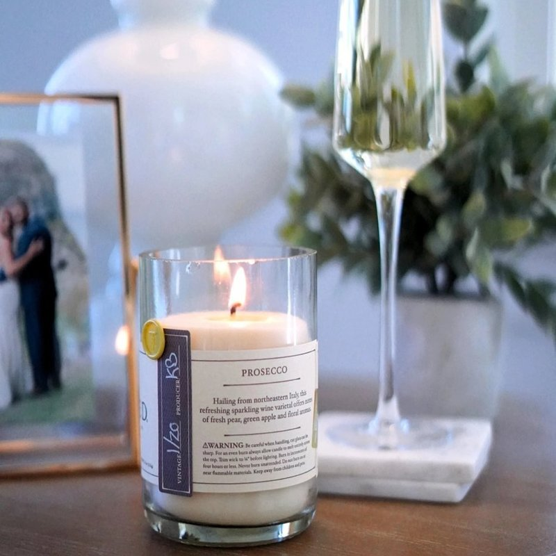 ReWined ReWined Candle Prosecco - 11oz