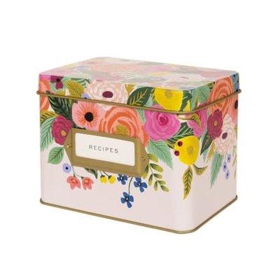 Rifle Paper Co Recipe Box - Juliet Rose