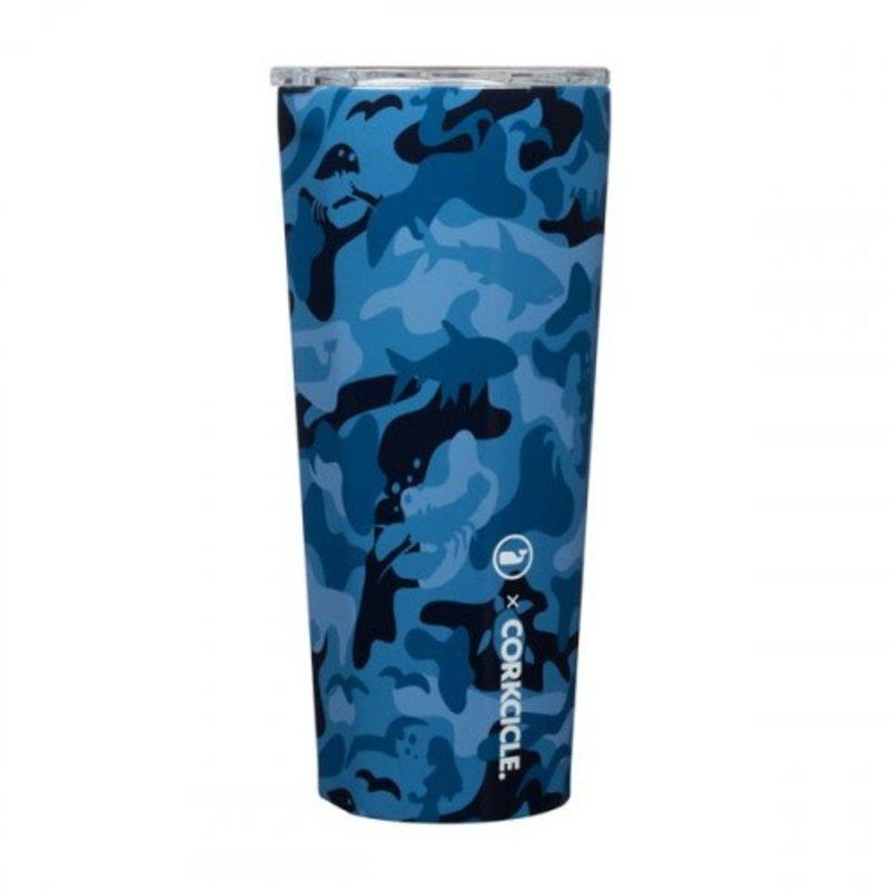 Corkcicle Corkcicle Tumbler- 16oz Blue Camo - Vineyard Vines 475ml