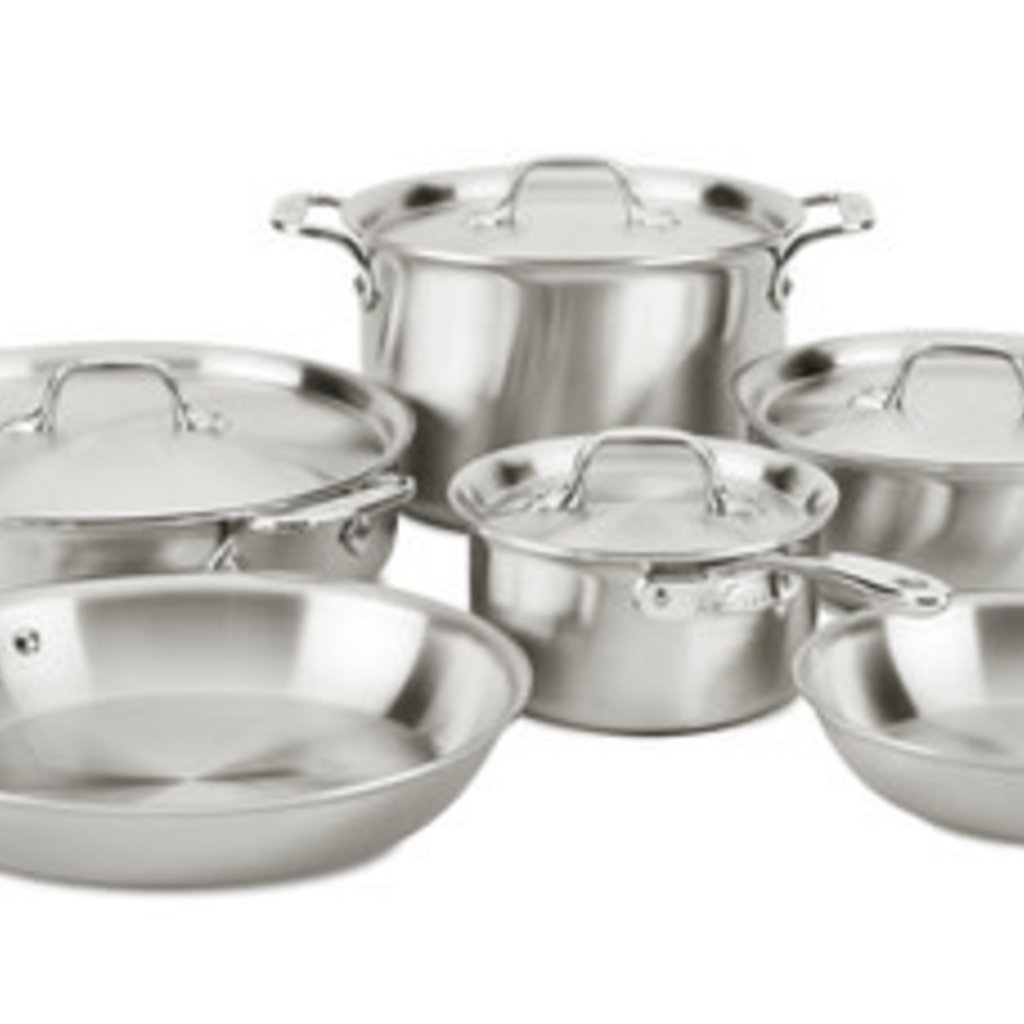 All-Clad All-Clad D3 10pc Curated Set