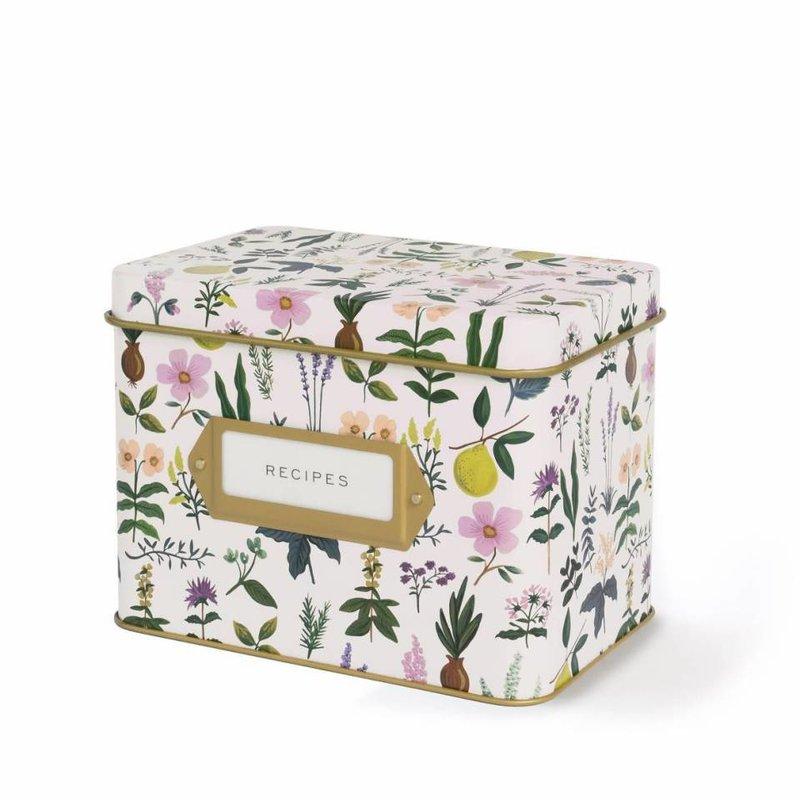 Rifle Paper Co Recipe Box - Herb Garden