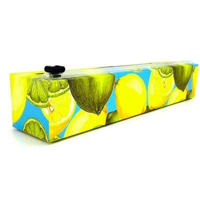 ChicWrap ChicWrap Plastic Wrap Dispenser - Lemon