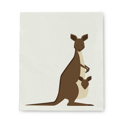 Abbott Kangaroo and Baby  Swedish DCloth