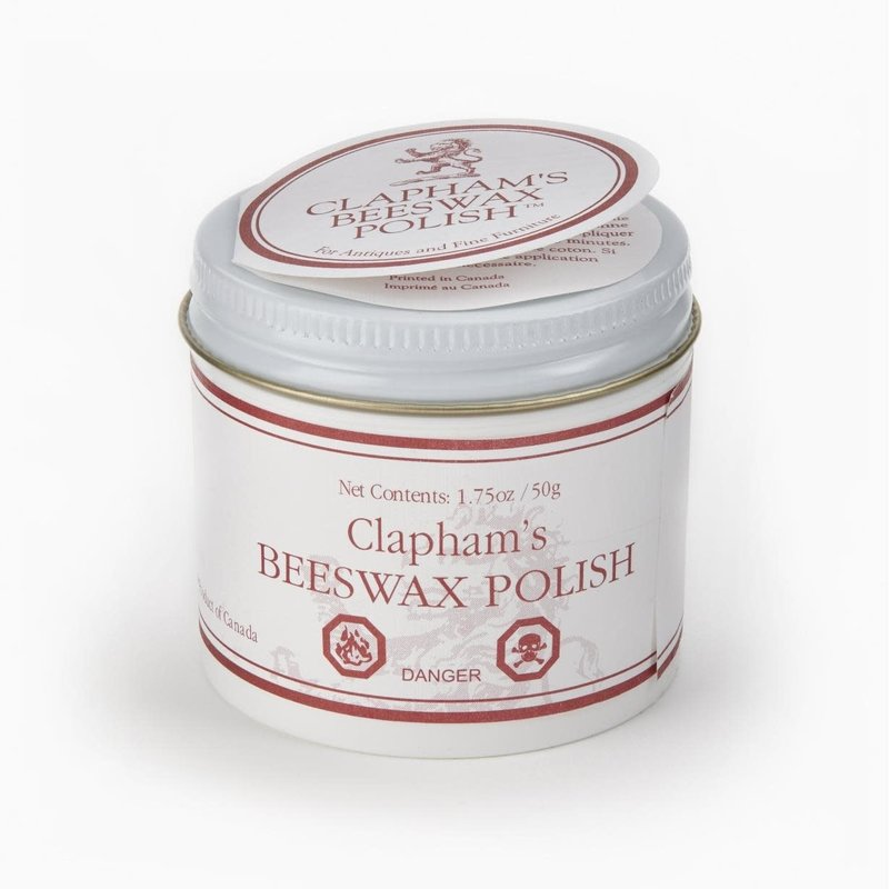 Clapham's Beeswax Clapham's Furniture Polish 50g **NOT FOOD SAFE**