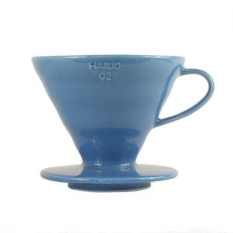 Hario Hario V60-02 Ceramic Dripper Turkey Blue