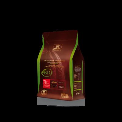 Cacao Barry Cacao Barry Dark Organic Fair Trade  71% - 2.5kg