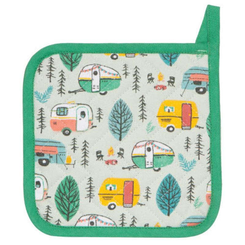 Danica/Now Designs Pot Holder Happy Camper