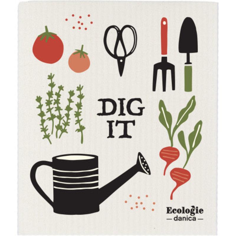 Danica/Now Designs Dishcloth Swedish Garden