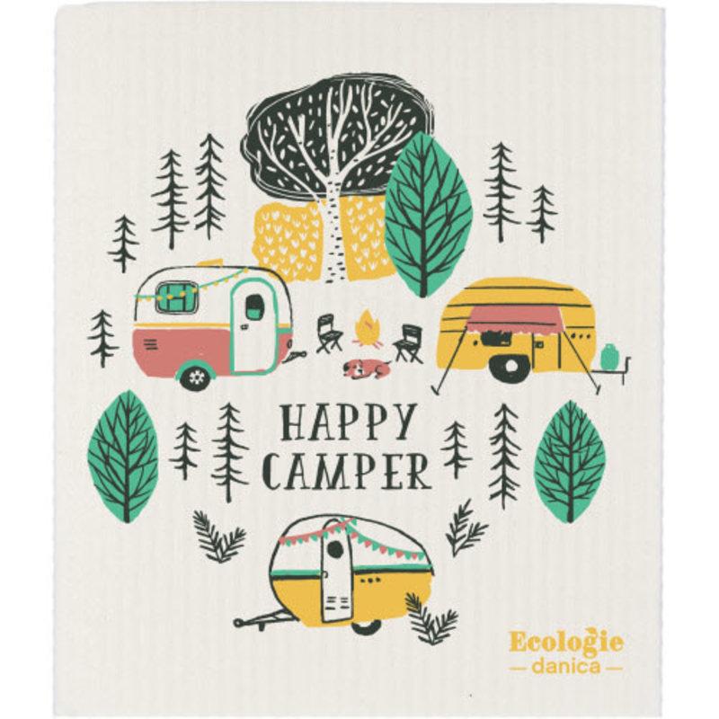 Danica/Now Designs Dishcloth Swedish Happy Camper