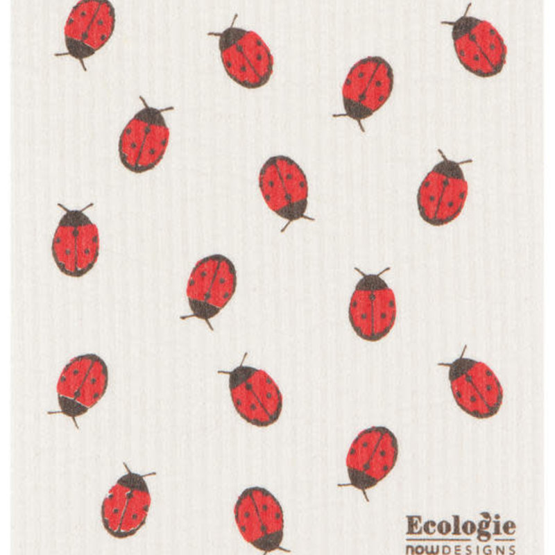 Danica/Now Designs Dishcloth Swedish Fly Away Ladybug