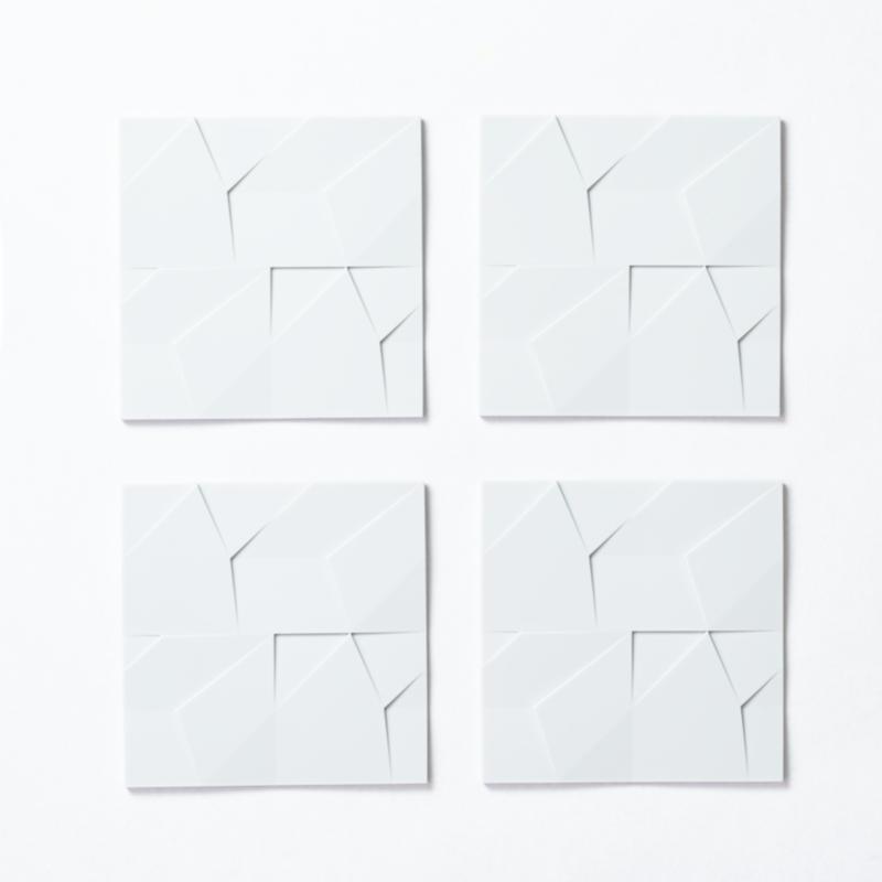 GIR Get It Right Silicone Mini Kitchen Mats /Trivet - Set 4 - Studio White