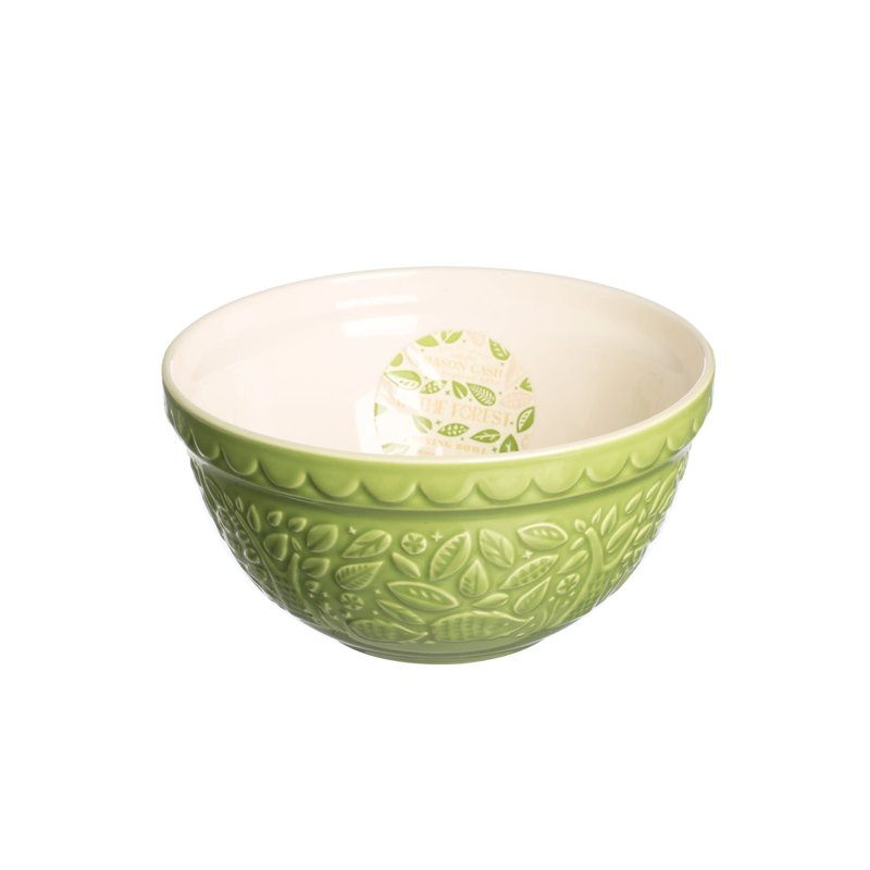 Mason Cash MC Forest Mixing Bowl Green Hedgehog  21cm