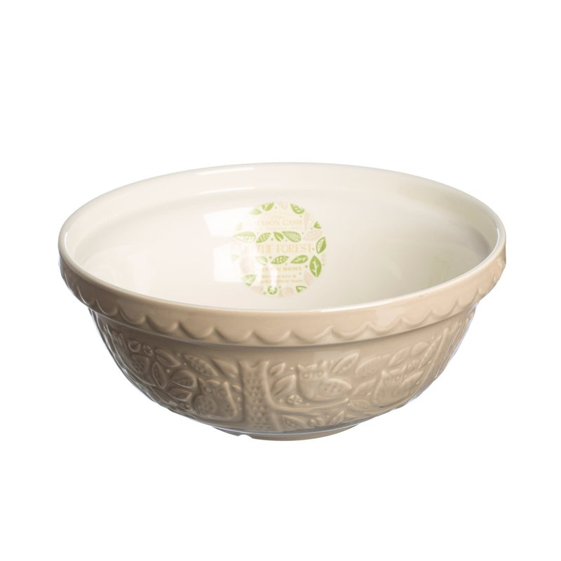 Mason Cash MC Forest Mixing Bowl Stone Owl  26cm