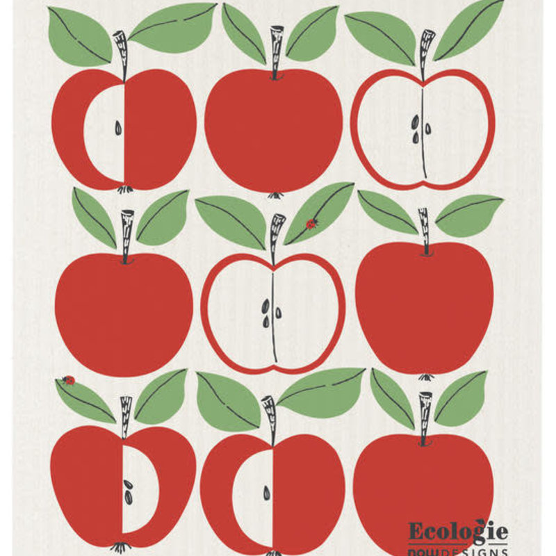 Danica/Now Designs Dishcloth Swedish Delicious - Apples