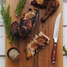Messermeister Avanta Fine Edge Steak Knife Set - Pakkawood Handle - Set 4