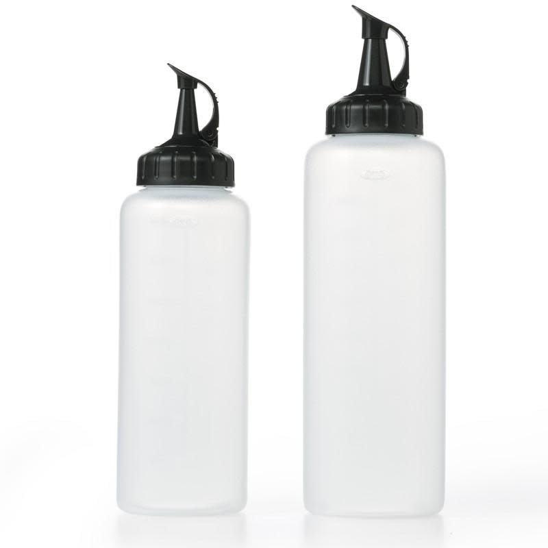 OXO Squeeze Bottles w Cap Set 2 - 12oz 16oz