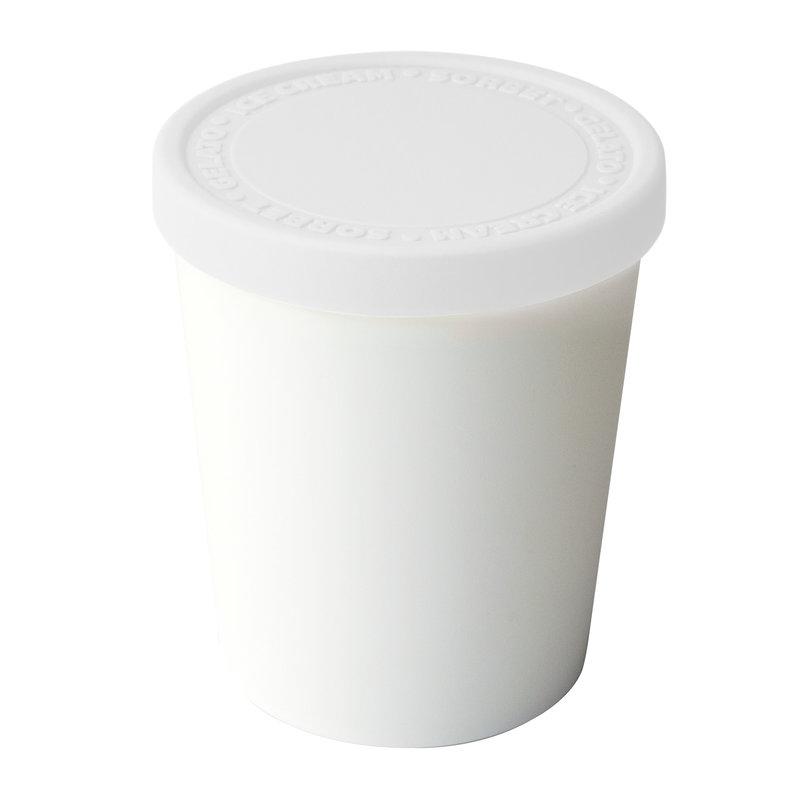 Tovolo Sweet Treats Ice Cream Tub - White