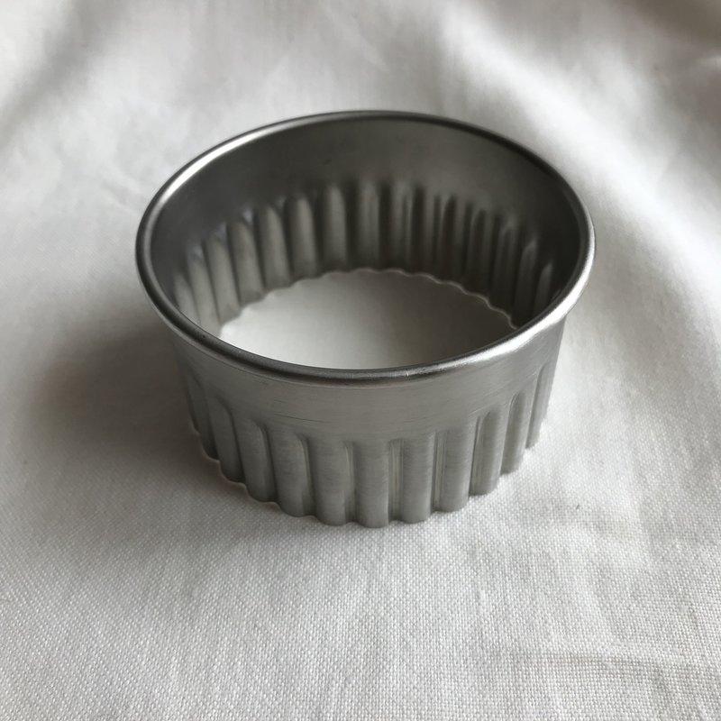 IMAIKOUBA Japanese Steel Fluted Cutter 80mm - Fits IMAIKOUBA Medium Ravioli