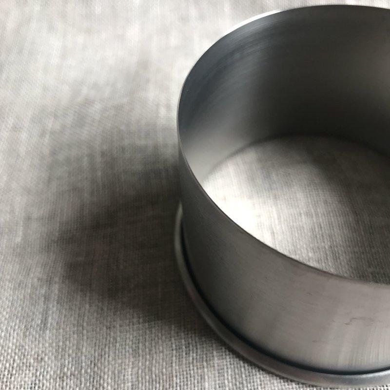 IMAIKOUBA Japanese Steel Round Cutter 70mm - Fits IMAIKOUBA Small Ravioli