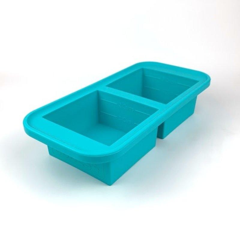 Souper Cubes Souper Cubes Freezing Tray - 2 Cup - Aqua