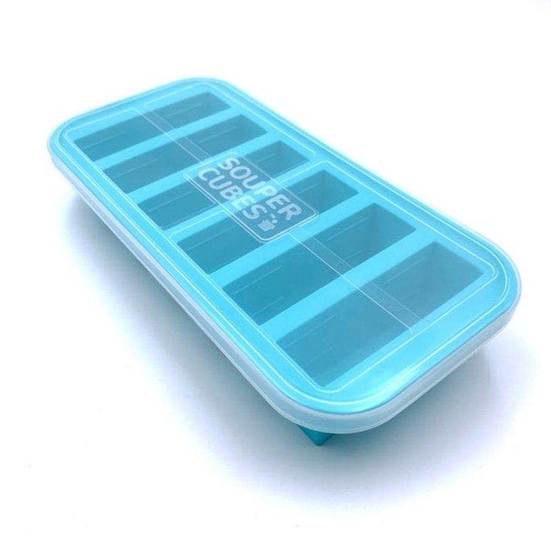Souper Cubes Souper Cubes Freezing Tray - 1/2 Cup - Aqua