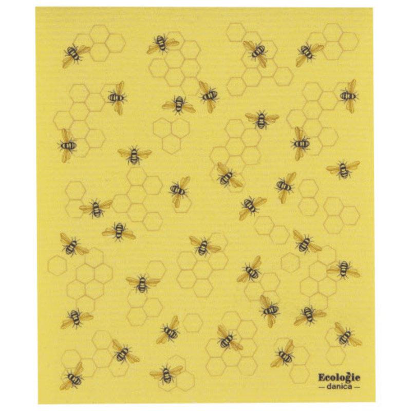 "Danica/Now Designs Swedish Sponge Towel Bees  (10"" x 12"")"